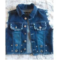 Colete jeans - 10 anos - Não informada