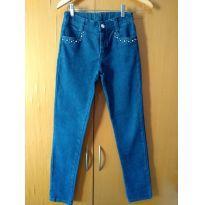 Calça Jeans Alphabeto - 14 anos - Alphabeto