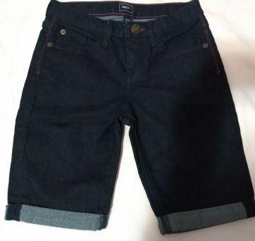 Bermuda GapKids Jeans Escuro - 10 anos - GAP
