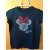 Blusa Preta Minie Original Disney Store - 10 anos - Disney