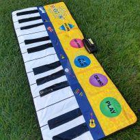 Tapete/Piano Musical - The World´s Biggest Piano Mat -  - Não informada