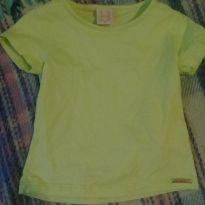 Camisa verde limão - 3 a 6 meses - hrradinhos