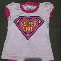 Blusa super girl - 3 anos - Basic+ Kids