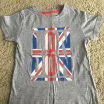 Camiseta em malha London - 4 anos - Primark