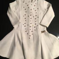 Vestido bordado - 1 ano - Piang Pee