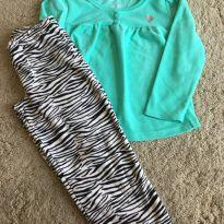 Pijama em fleece - 4 anos - Carter`s