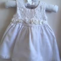 Vestido para Batizado / Casamento - 3 meses - TWO ANGELS