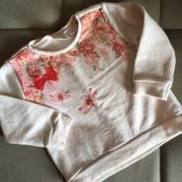 Blusa estilo moleton Zara - 3 a 6 meses - Zara Baby