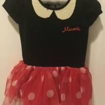 Vestido Minnie Baby Gap Disney - 6 a 9 meses - Baby Gap