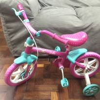 Bicicleta infantil aro 12 Caloi Barbie -  - Caloi
