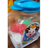 Brinquedo interativo sonoro leiteira Fischer Price -  - Fisher Price