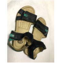 Papete Ortopasso em couro - fechamento em velcro - 32 - Ortopasso