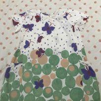 Vestido Fábula borboletas - 6 anos - Fábula