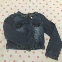 Jaqueta jeans Alphabeto - 8 anos - Alphabeto