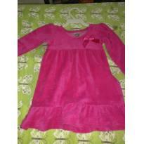 Vestido manga comprida - 9 a 12 meses - Não informada