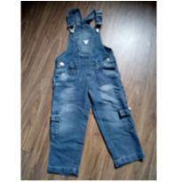 Jardineira jeans - 2 anos - Nacional