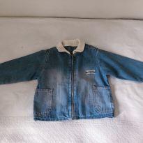 Jaqueta jeans tigor - 18 a 24 meses - Tigor T.  Tigre