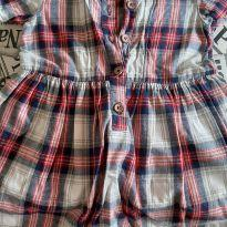 Vestido Xadrez Carters - 1 ano - Carter`s