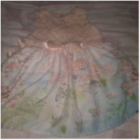 Vestido Paraíso Bebê tam P - 3 a 6 meses - Paraíso e Paraíso Moda Bebê