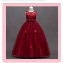 Lindissimo Vestido de festa infantil - 6 anos - Importado
