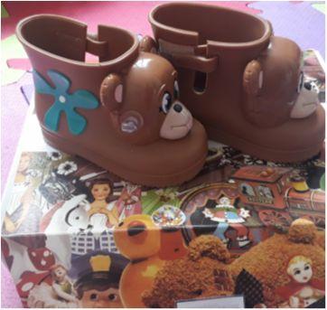 Bota Mini Melissa -coleção marsha e urso - 21 - Melissa