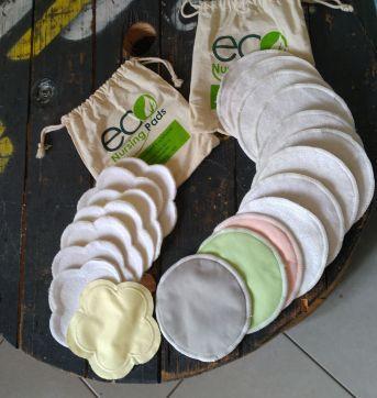 Protetor de seios reutilizável ecológico - Sem faixa etaria - Ecobabies