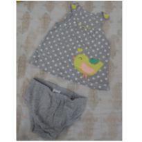Camiseta e calcinha passarinho Carter`s - 18 meses - Carter`s
