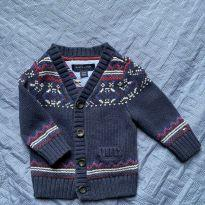 Casaquinho Tommy - 3 a 6 meses - Tommy Hilfiger