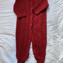 Macacão de tricot da Dolce Abbracio - 3 meses - Dolce Abbraccio