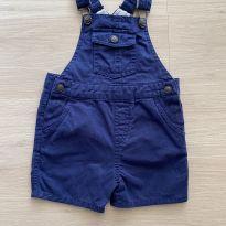 Jardineira azul da Zara - 6 a 9 meses - Zara