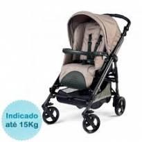 Carrinho De Bebê Book Plus Sportivo Mod Bege - Sem faixa etaria - Peg Pereggo