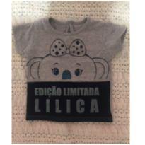 Camiseta Lilica Baby - 3 a 6 meses - Lilica Ripilica e Lilica Ripilica Baby
