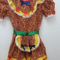 Vestido festa junina - 6 anos - Não informada