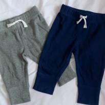 Dupla de calças carters - 3 meses - Carter`s