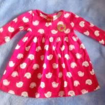 Vestido rosa kyly - 3 meses - Kyly
