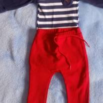 Conjuntinho body + calça - 3 a 6 meses - Lilica Ripilica