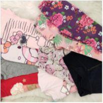 Lote roupas variadas - 2 anos - Variadas e Hello  Kitty