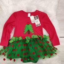 Vestido natal - 18 meses - Importada