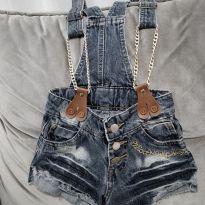 Jardineira jeans Lilica - 2 anos - Lilica Ripilica