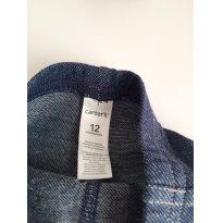 Calça Jeans Carters - 9 a 12 meses - Carter`s