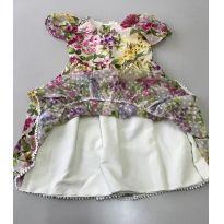 Vestido Floral Momi com forro - 3 anos - Momi