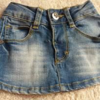 Saia jeans - 3 meses - Baby Way
