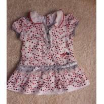 Vestido Chicco - 3 a 6 meses - Chicco