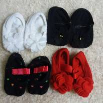 4 pares meias  puket - 3 meses - Puket