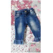Calça Jeans de menina - 1 ano - yoyo Baby