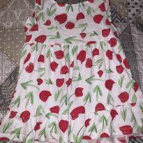 Vestido florido - 9 a 12 meses - Zara e Zara Baby