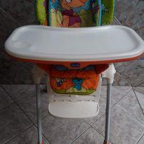 Cadeira de Alimentação Polly Wood Friends Chicco 2 em 1 -  - Chicco