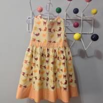 vestido de gatinhos - 4 anos - Não informada