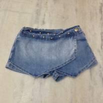 short saia jeans - 3 anos - Baby Club