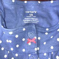Romper bolinhas caranguejo - 18 meses - Carter`s